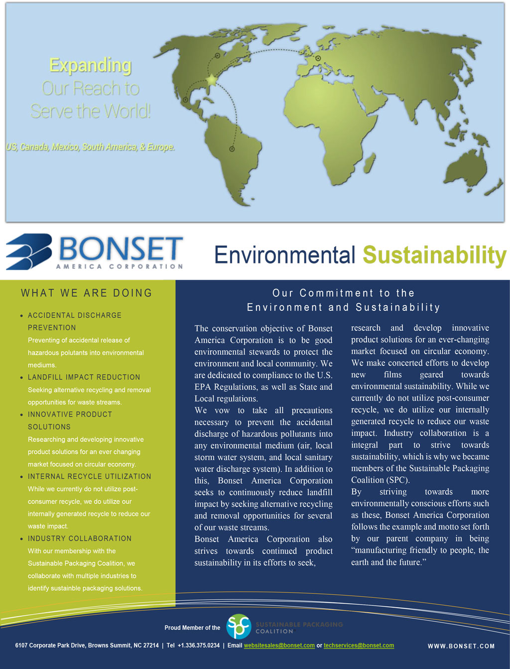 Sustainability Environmental Statement